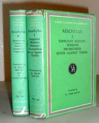 Aeschylus in 2 Volumes, Vols I & II
