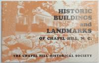 image of HISTORIC BUILDINGS AND LANDMARKS OF CHAPEL HILL, North Carolina