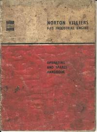 Norton Villiers F.15 Industrial Engine Operating and Spares Handbook