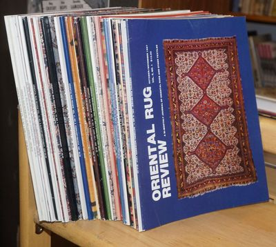 Meredith, NH: Oriental Rug Auction Review, 1993. Thirty-four issues of the magazine, a near-complete...