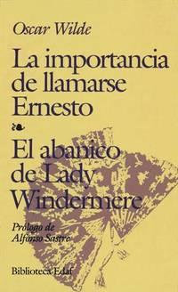 image of La importancia de llamarse Ernesto
