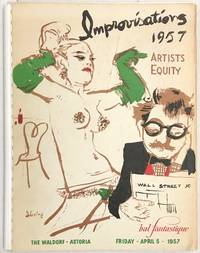 Artists Equity Fund, Inc. presents Bal Fantastique Masque Ball. April 5, 1957. The Waldorf-Astoria [Cover title: Improvisations 1957]