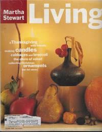 MARTHA STEWART LIVING MAGAZINE NOVEMBER 1994 by  Martha Stewart - 1994 - from Gibson's Books (SKU: 82919)