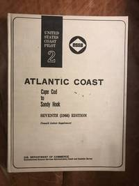 United States Coast Pilot 2 Coast Cape Cod To Sandy Hook with Supplement