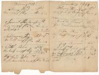 Autograph Document (unsigned)