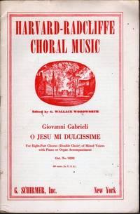 O Jesu Mi Dulcissime by  Giovanni Gabrieli  - Paperback  - Reprint  - 1972  - from citynightsbooks (SKU: 10876)