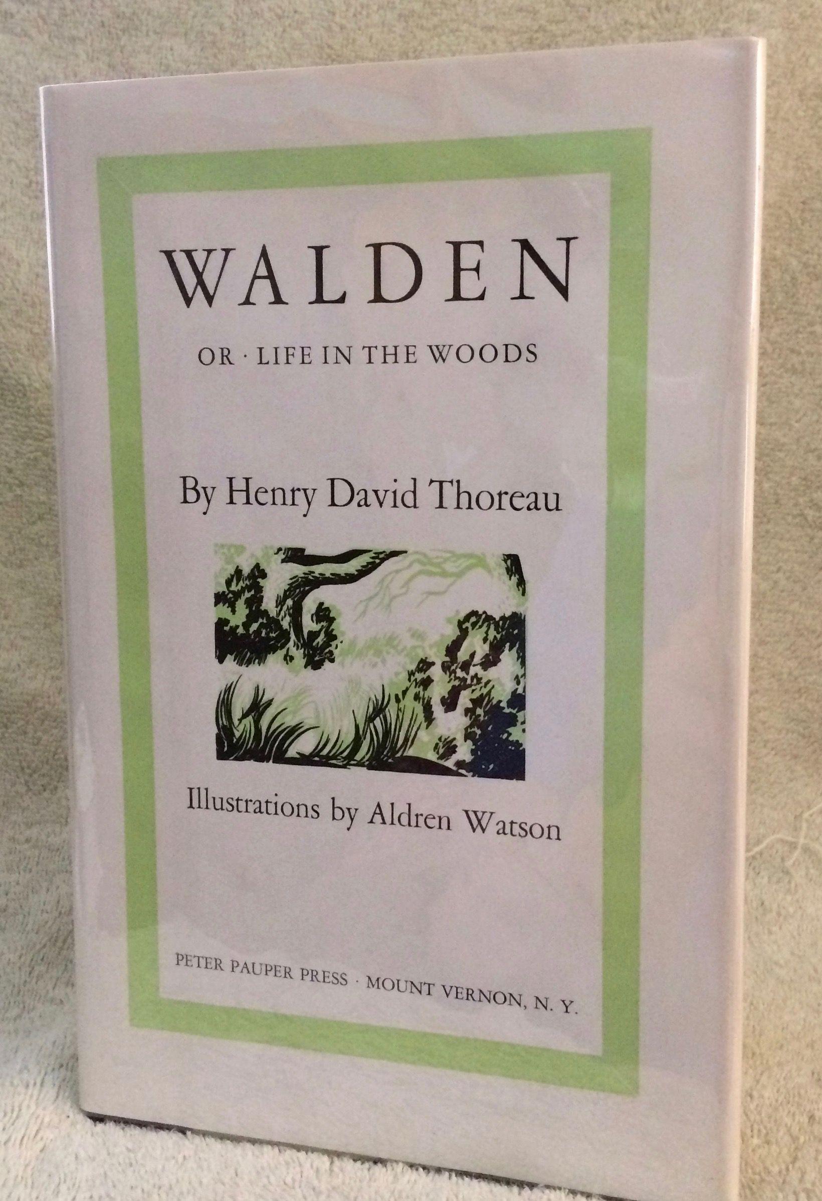 walden or life in the woods by henry david illustrations. Black Bedroom Furniture Sets. Home Design Ideas