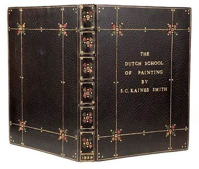 London: The Medici Society, 1929. First edition. First edition. A fabulous Arts & Crafts binding by ...