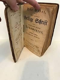 (1824 German Bible) Die Bibel Gheilige Schriff
