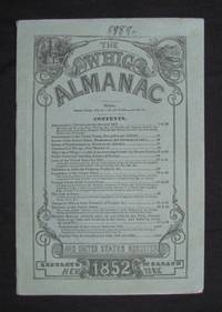 THE WHIG ALMANAC AND UNITED STATES REGISTER FOR 1852