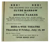 See! See! The Machine Gun Killing of Clyde Barrow and Bonnie Parker