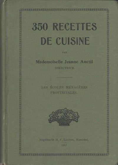 Montréal: Imprimerie H.F. Lauzon, 1915. Small octavo, , 4-265 pages. Ads. Black & white photo illus...