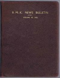 B.M.K. News Bulletin Volume 10 1955