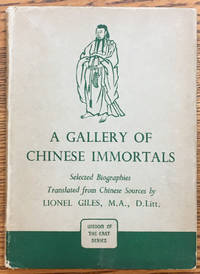 A Gallery Of Chinese Immortals (Wisdom of the East Series)