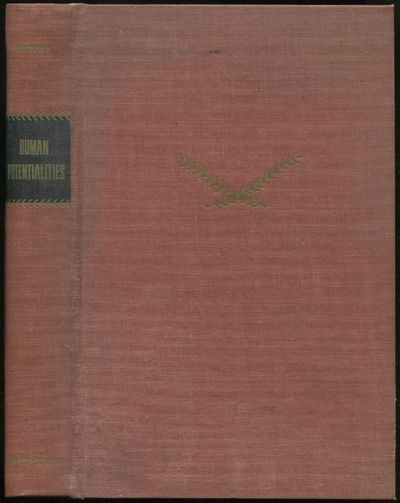 New York: Basic Books, 1958. Hardcover. Very Good. First edition. Octavo. x, 340pp. Owner's name sta...