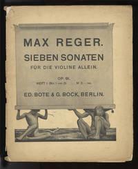 [Op. 91, Nos. 1-2]. Sieben Sonaten für die Violine allein ... Heft I.