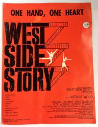 "One Hand, One Heart Original 1957 Vintage Sheet Music from ""West Side Story"" with Natalie Wood"