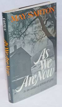 As We Are Now a novel