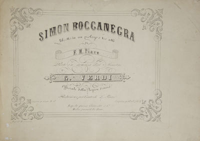 Napoli: Clausetti e Co. , 1858. Oblong folio. Full modern maroon simulated leather, titling gilt to ...