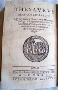 Thesaurus Arabico-Syro-Latinus