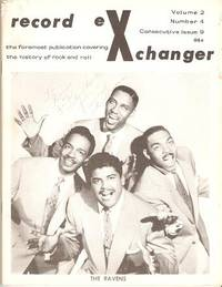 RECORD EXCHANGER,  Volume 2, No. 4, Consecutive Issue 9,  March 1972:; The Foremost Publication Covering the History of Rock and Roll