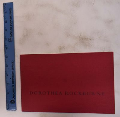 New York: Andre Emmerich Gallery, 1994. Softcover. VG-. Minor soiling on covers.. Red wraps. pp. 4 c...