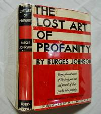 The lost art of profanity;