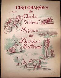 Cinq chansons de Charles Vildrac.