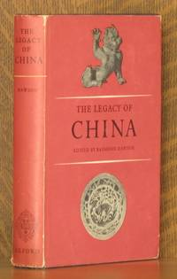 THE LEGACY OF CHINA