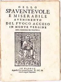 Dello spaventevole e miserabile avenimento [sic] del fuoco acceso in Monte Vergine nel Regno di Napoli.