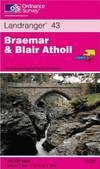 image of Braemar and Blair Atholl (Landranger Maps)