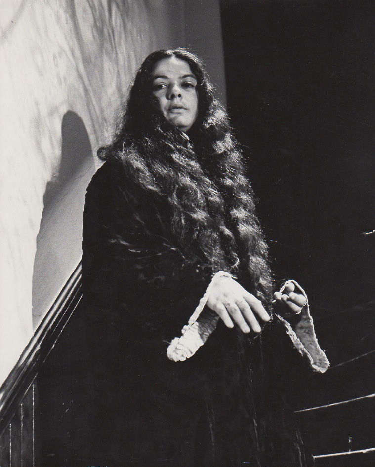 Lucifer Rising: Photograph Of Lenore Kandel On The Set Of The Original