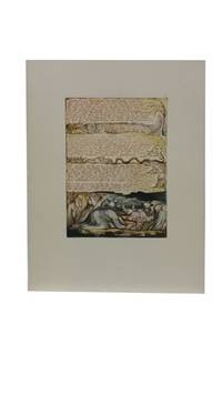Individual Facsimile Prints from the Trianon Press; Jerusalem, Cunliffe Copy B, plate 9 by  William Blake - from Archives Fine Books  (SKU: 1178)