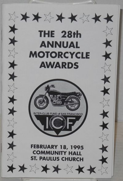 San Francisco: ICF - SF, 1995. 5.5x8.5 inches, ads, program for the event, upcoming events, very goo...