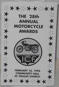 The 28th Annual Motorcycle Awards [program] St. Paulus Church, San Francisco, February 18, 1995