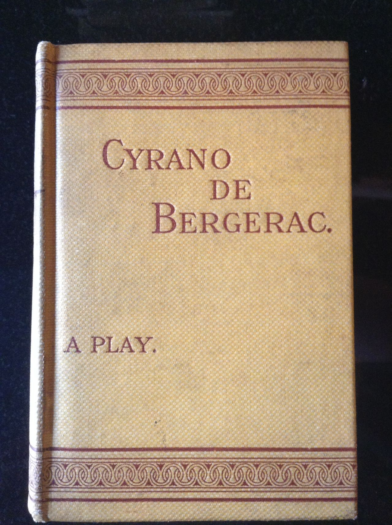 a review of cyrano de bergerac a book by edmond rostand Cyrano de bergerac user review - not available - book verdict gr 7 up-in this adaptation of edmond rostand's cyrano de bergerac, the st charles players, utilizing background music and clear voices, successfully bring cyrano's story to listeners.