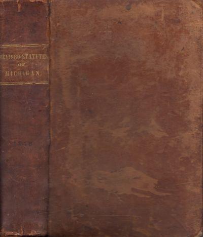Detroit: Sanford M. Green, 1846. First Edition. Leather bound. Fair. Quarto. , xvi, 829 pages, errat...