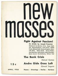 New Masses - Vol.8, No.8 (April, 1933)