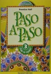 Paso a Paso Level 3: Spanish Edition