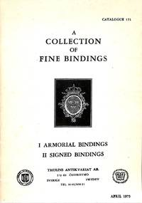 Catalogue 171/1975: A collection of fine bindings.