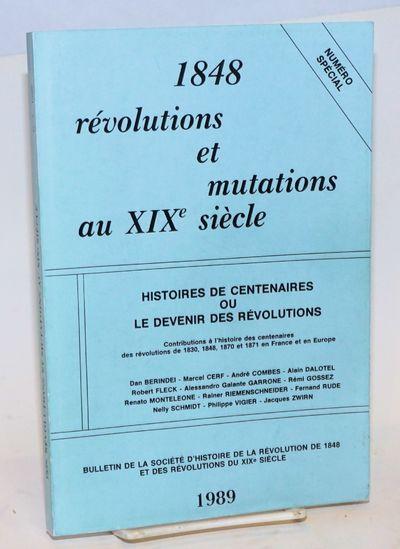 Paris: Société d'histoire de la Révolution de 1848 et des révolutions du XIXe siècle, 1989. 217...