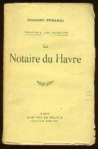 Paris: Mercvre de France, 1933. Softcover. Near Fine. Reprint. Wrappers. Spine tanned, some creasing...