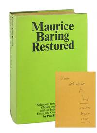 Maurice Baring Restored [Signed and Inscribed by Horgan]