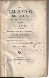De l'éducation des filles / Suivi de La lettre du Comte...