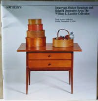image of Important Shaker Furniture and Related Decorative Arts :  The William L.  Lassiter Collection