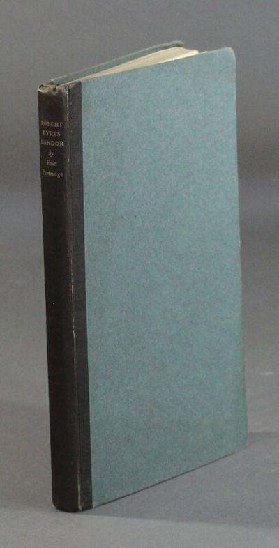 London: Fanfrolico Press, 1927. First edition, 8vo, pp. , 108; near fine in original black cloth-bac...