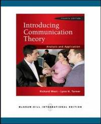 Introducing Communication Theory: Analysis and Application by Richard L. West - 2009-08-05