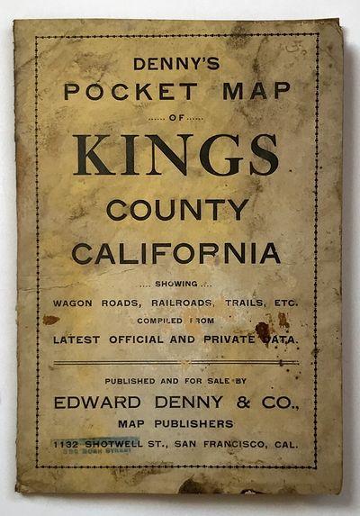 San Francisco: Edward Denny & Co, 1912. About very good.. Folding map, 25.25 x 23.75 inches. Origina...