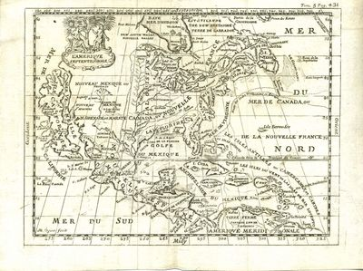 Two Beautiful 17th Century map of North America and South America. Each about 8 x 6