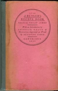 A Butler's Recipe Book, 1719